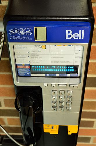 Payphone - Bell Canada payphone