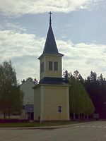 Bell tower of Rautavaara Finland.jpg