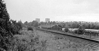 Bellahouston railway station Railway station serving the Bellahouston area of Glasgow, Scotland