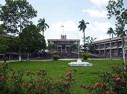 Parlamentshuset i Belmopan.