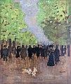 Bemberg Fondation Toulouse - Scène de rue 1894 - Huile sur panneau - Pierre Bonnard - inv.2014.jpg
