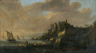 Seascape with a Castle