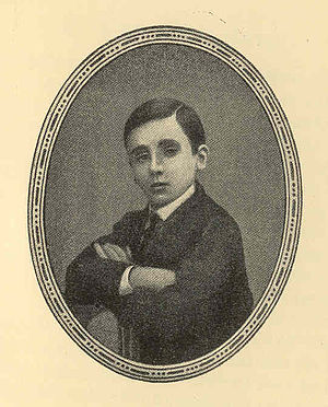 Pope Benedict XV - Giacomo in 1866 at age twelve