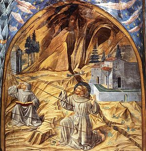 Benozzo Gozzoli - Scenes from the Life of St Francis, Museum Complex of San Francesco, Montefalco, 1452.