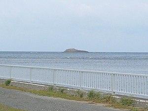 Cape Sōya - Benten-jima, viewed from Cape Sōya