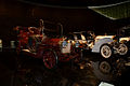 Benz 18 PS 1905 and Mercedes 75 PS 1908 Doppelphaetons RSideFront MBMuse 9June2013 (14796976689).jpg