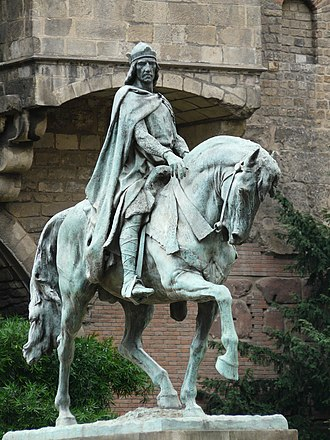 Ramon Berenguer III, Count of Barcelona - Statue of Ramon Berenguer III by Josep Llimona