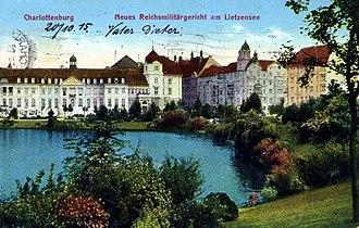 Reichskriegsgericht - Image: Berlin Charlottenburg Postkarte 052