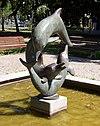 Delphinbrunnen in Wilmersdorf