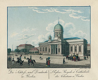 Berlin Cathedral - The Supreme Parish Church after Schinkel's remodelling, around 1830