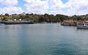 Berrys Bay - Berrys Bay and SS South Steyne