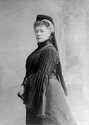 Deutsch: Bertha von Suttner, 1906. Fotografie ...