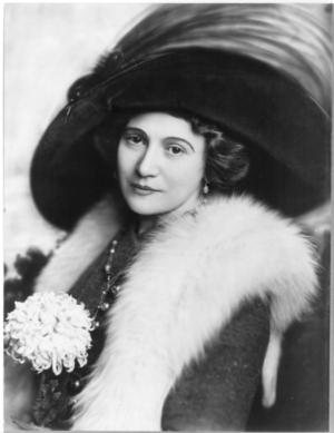 Bertha Kalich - A publicity portrait of Bertha Kalich dated 1910.