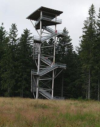 Plateau de Millevaches - Image: Bessou Tower 01
