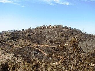 Beit Oren - Beit Oren after 2010 fire