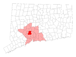 Located in New Haven County, Connecticut