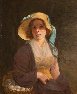 John Wesley Jarvis - Image: Betsy Burtis, The Artist's First Wife by John Wesley Jarvis