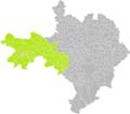 Bez-et-Esparon (Gard) dans son Arrondissement.png