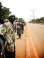 Bike race spectators in Ouagadougou, Burkina Faso, 2009.jpg