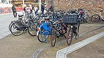 Bikes outside Paddington station 02.jpg