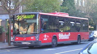 Tata Hispano - Image: Bilbobus Mercedes (Hispano Habit)