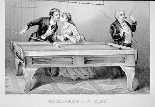 Billiards, A Kiss