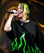 Billie Eilish at Pukkelpop Festival - 18 AUGUST 2019 (01) (cropped).jpg
