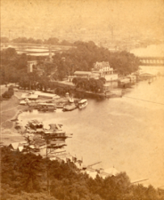 Bird's-eye view from Lemon Hill Observatory, E. Fairmount Park, by Cremer, James, 1821-1893-cropped-large
