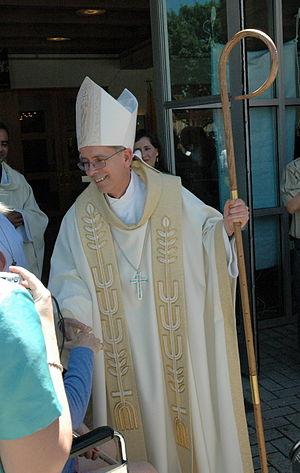 Mark J. Seitz - Seitz as auxiliary bishop of Dallas