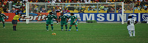 Nigeria national football team - Ghana vs. Nigeria in the 2008 Africa Cup of Nations Quarter-Final
