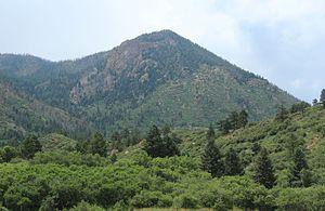 Blodgett Peak - Blodgett Peak seen from the Blodgett Peak Open Space