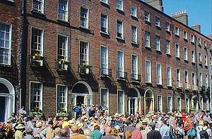 Bloomsday - Street party in North Great George's Street, 2004