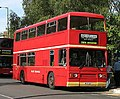 Blue Triangle bus T33 (WYV 33T) 1979 Leyland Titan B15, East Finchley, 17 September 2006.jpg