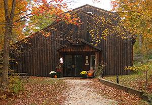 Birds of Vermont Museum - Image: Bo VM entrance