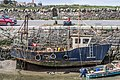 Boat In Balbriggan Harbour At Low Tide - panoramio.jpg