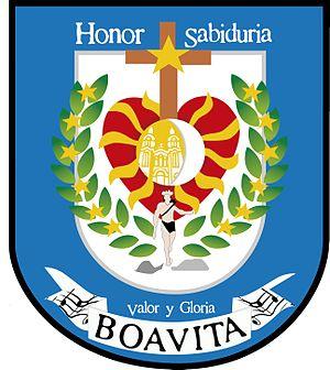 Boavita - Image: Boavita escudo