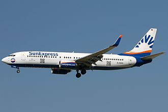 SunExpress Deutschland - SunExpress Deutschland Boeing 737-800
