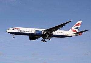 ETOPS - Boeing 777-200ER