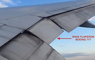 Flaperon - Boeing 777 flaperon.