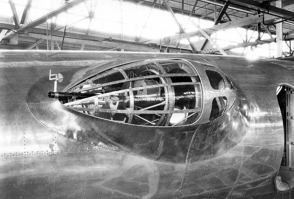 Boeing XB-17 blister turret