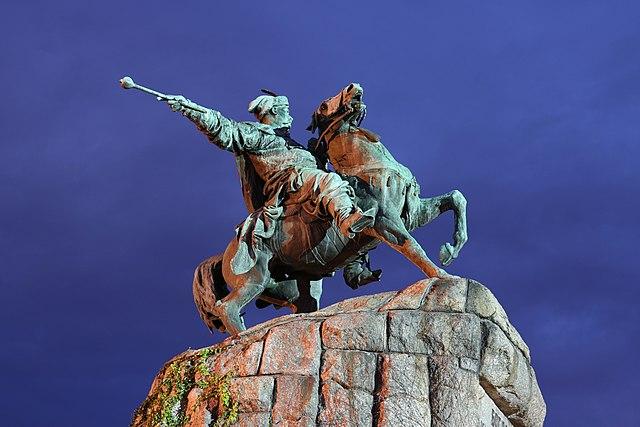 Пам'ятник Богданові Хмельницькому в Києві