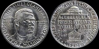 Booker T. Washington Memorial half dollar