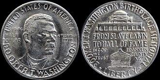 Booker T. Washington Memorial half dollar - Booker T. Washington half dollar (1946)