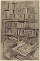 "Bookshelves, Study for ""Edmond Duranty"" MET 19.51.9b.jpg"