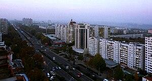 Sectorul Botanica - Bulevardul Dacia in Sectorul Botanica