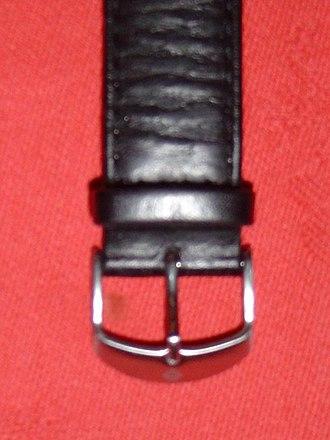 Watch strap - Image: Boucle ardillon