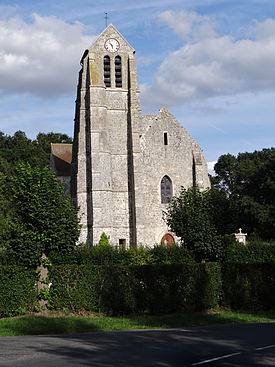 Bouillancy eglise-Cities and villages in Oise 2.JPG