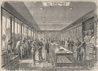 Au Départ - Image: Boutique Au Départ boulevard de Denain