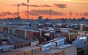 Rialto, California - Boxcars, Rialto, California