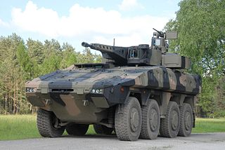Boxer (armoured fighting vehicle) German-Dutch multirole armoured fighting vehicle